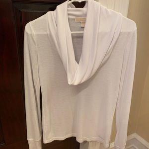 Michael Kors Long Sleeve White Tshirt